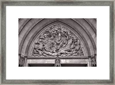 Cathedral Ex Nihilo Framed Print by Susan Isakson
