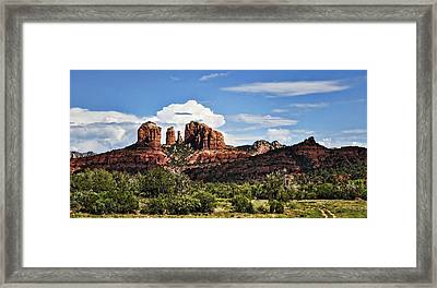 Cathedral Rock  Framed Print by Saija  Lehtonen