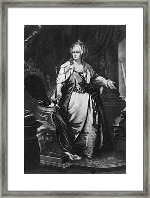 Catherine II, Empress Of Russia Framed Print by Everett