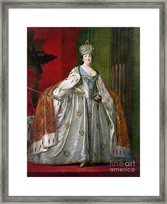 Catherine II Of Russia Framed Print by Granger