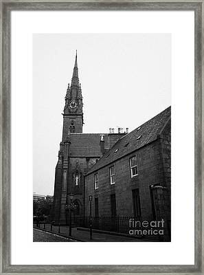 Catholic Cathedral Of St Mary Of The Assumption Aberdeen Scotland Uk Framed Print by Joe Fox