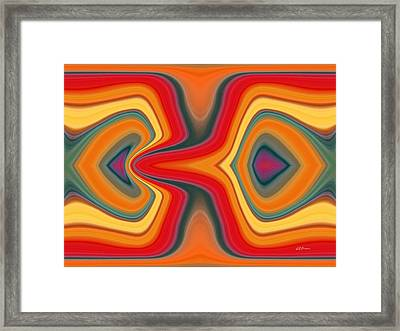 Cause And Effect Framed Print by Greg Reed Brown