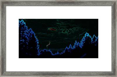 Cause And Effect Framed Print by Travis Crockart