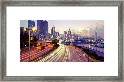 Causeway Bay Framed Print by Andi Andreas