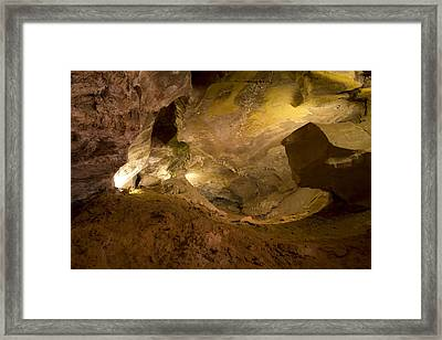 Cave Of The Winds Framed Print by Nicholas Evans