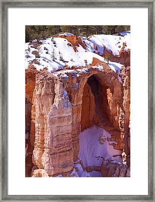 Cave Framed Print by Viktor Savchenko