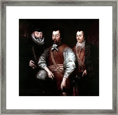 Cavendish Drake And Hawkins Framed Print by Granger