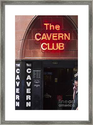 Cavern Club Framed Print by Andrew  Michael