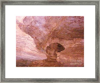 Cavern2 Framed Print by Artie Wallace