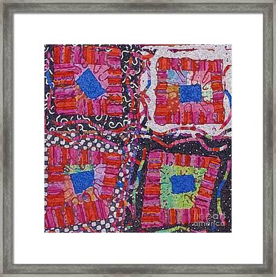 Celebrate Color Framed Print by Marilyn West