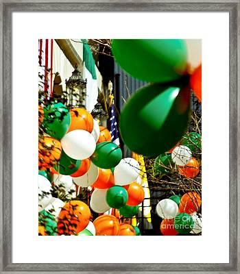 Celebrate Saint Patrick's Day Framed Print by Carol F Austin