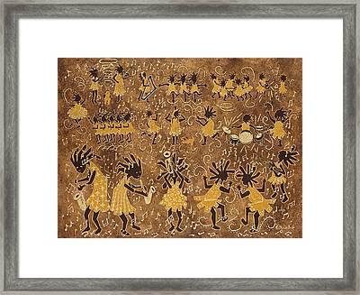 Celebration Framed Print by Katherine Young-Beck