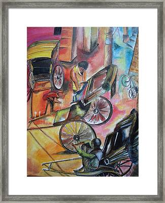 Celebration Framed Print by Prasenjit Dhar