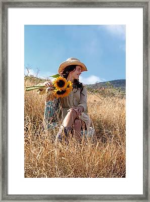 Celeste 1 Framed Print by Dawn Eshelman