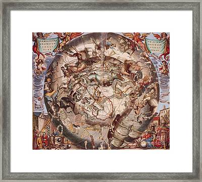 Cellariuss Constellations, 1660 Framed Print by Science Source