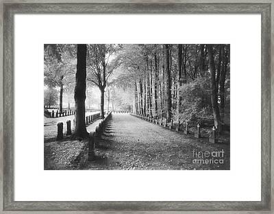 Cemetery At Ypres  Framed Print by Simon Marsden
