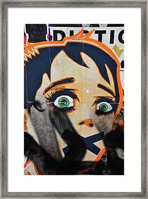 Censorship Framed Print by Harry Spitz