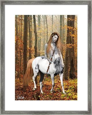 Centaur Series Autumn Walk Framed Print by Nikki Marie Smith