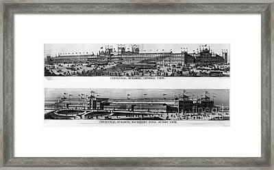 Centennial Expo, 1876 Framed Print by Granger