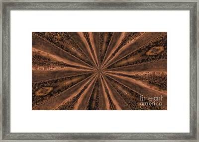 Center Of The Earth Framed Print by Marsha Heiken