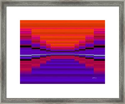 Center Stage Framed Print by Greg Reed Brown