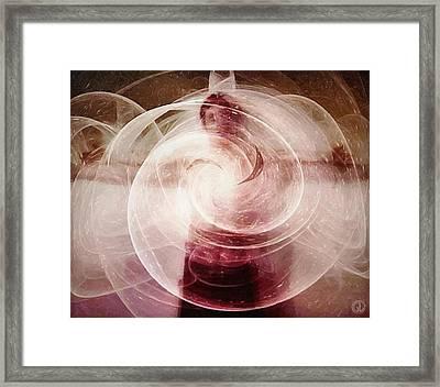 Centered Framed Print by Gun Legler