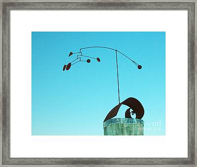 Centered Framed Print by Tommy  Urbans