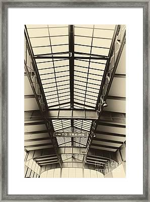 Central Railroad Of New Jersey  Framed Print by Leslie Leda