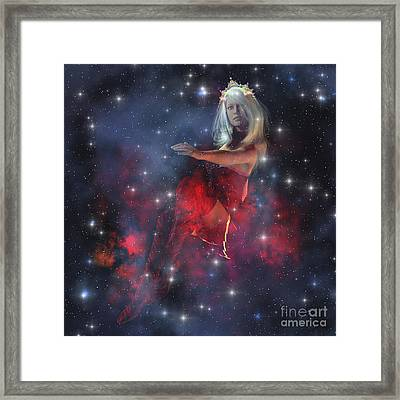 Cerces, The Daughter Of The Sun Framed Print by Corey Ford