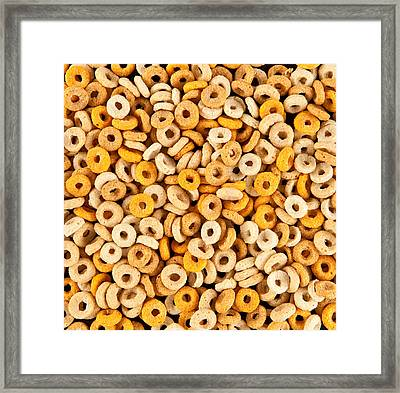 Cereal Framed Print by Tom Gowanlock