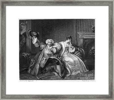 Chacun À Son Gout Framed Print by Granger