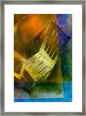 Chair  Framed Print by Mauro Celotti