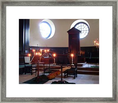 Chamber Music At The Capitol Framed Print by Lisa A Bello