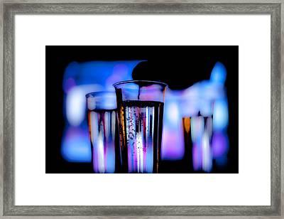 Champagne Framed Print by Hakon Soreide