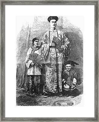 Chang (c1840-1893) Framed Print by Granger