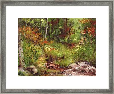 Changing Seasons Framed Print by Aline Lotter
