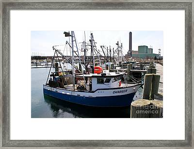 Charger Framed Print by Extrospection Art