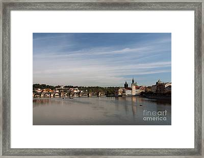 Charles Bridge Framed Print by Ivy Ho