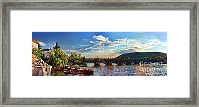 Charles Bridge Framed Print by Joerg Lingnau