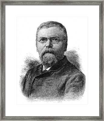 Charles Nordhoff Framed Print by Granger