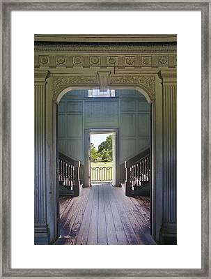 Charleston Drayton Hall 18th Century Framed Print by Rob Tilley
