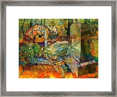 Charleston Mermaid Framed Print by Mary Ogle
