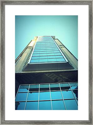Charlotte Offices Framed Print by Kenneth Mucke