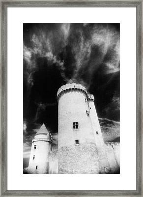 Chateau De Blandy Les Tours Framed Print by Simon Marsden