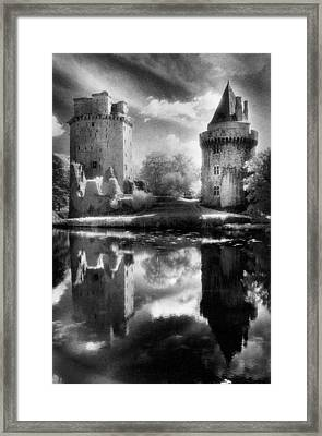 Chateau De Largoet Framed Print by Simon Marsden