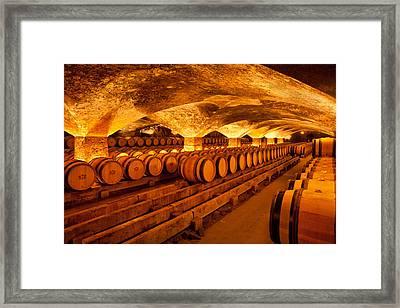 Chateau Du Mersault-burgundy France Framed Print by John Galbo