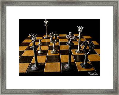 Checkmate Framed Print by David Salter