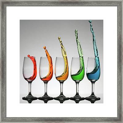 Cheers Higher Framed Print by William Lee