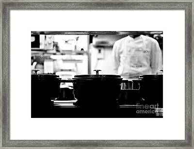 Chef Framed Print by Dean Harte