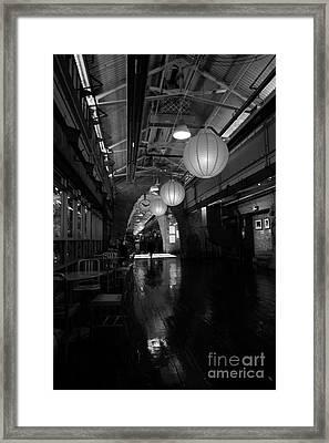 Chelsea Market Interior Framed Print by David Bearden